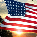 USA Flag live wallpaper